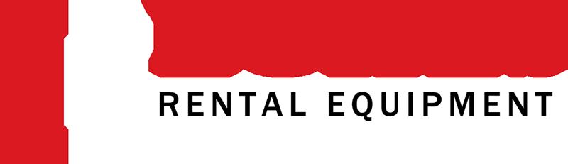 LOKES Rental Equipment full color logo for dark backgrounds