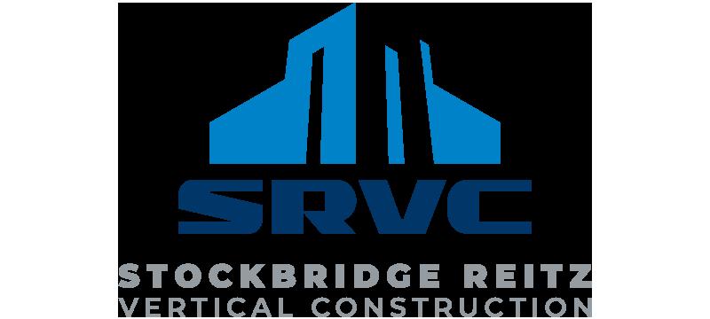 Stockbridge Reitz Vertical Construction SRVC full color logo